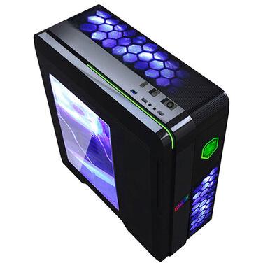 Корпус GameMax G536BK blue (Без БП)