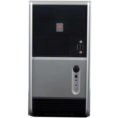 Корпус INWIN IW-EMR006 Black-Silver, mATX, 450W, USB+Audio (6120744)