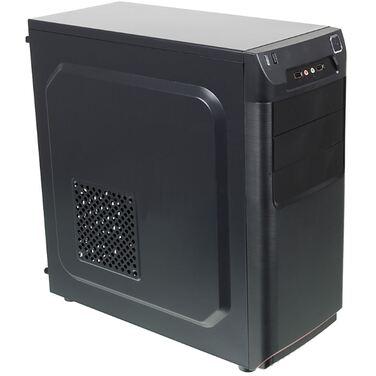 Корпус Accord ACC-B305 черный без БП ATX 3x120mm 2xUSB2.0 audio