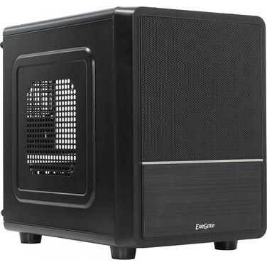 Корпус Exegate CB-564 Desktop Cube, Black, без БП, mATX, USB, Audio