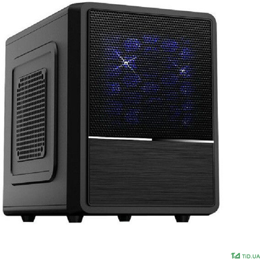 Корпус Exegate CB-564 Desktop Cube, Black, БП XP450, 80mm, mATX, 3*SATA, USB, Audio