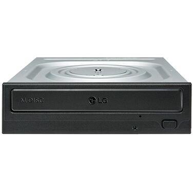 Привод DVD+/-RW LG GH24NSD1 черный, SATA, M-Disk, внутренний, oem