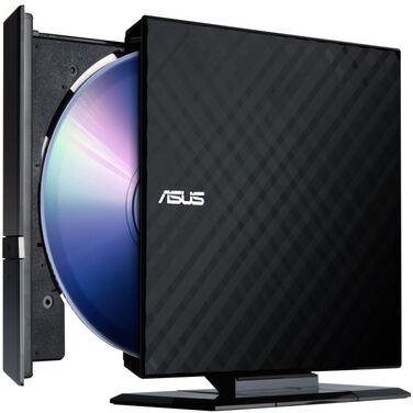 Привод внешний DVD+/-RW Asus SDRW-08D2S-U Lite black, USB