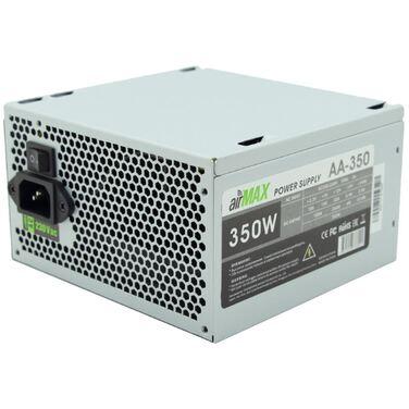 Блок питания 350W AirMax AA-350W ATX (24+4+6пин, 120mm (SCP)\(OVP)\(OCP)\(UVP)\ATX 12V v.2.3)
