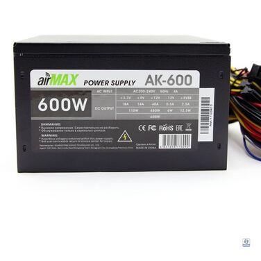Блок питания 600W AirMax AК-600W 120mm (SCP)\(OVP)\(OCP(UVP))\, ATX 12V v.2.3