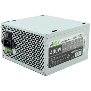 Блок питания 400W AirMax AA-400W ATX (24+4+6пин, 120mm (SCP)\(OVP)\(OCP)\(UVP)\ATX 12V v.2.3)