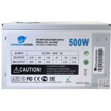 Блок питания 500W PowerCool (SCP)\(OVP)\(OCP)\24+8\+4 20+4 pin, ATX 12V v.2.3 ATX OEM