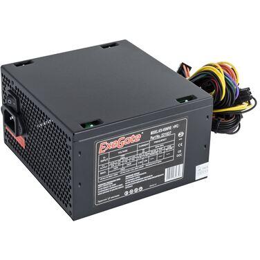 Блок питания 450W Exegate ATX-450NPXE(+PFC), ATX, black, 12cm fan, 24+4pin, 6pin PCI-E, 3*SATA