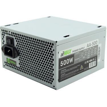 Блок питания 500W AirMax AA-500W ATX (24+4+6пин, 120mm (SCP)\(OVP)\(OCP)\(UVP)\ATX 12V v.2.3)