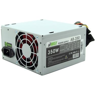 Блок питания 350W AirMax A8-350W ATX (24+4+6пин, 80mm (SCP)\(OVP)\(OCP)\(UVP)\ATX 12V v.2.3)