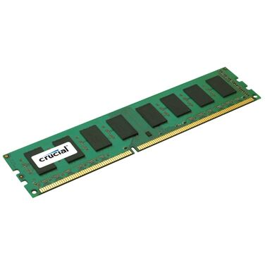 Память 8Gb DDR3 1600MHz Crucial (CT102464BA160B) 1 RTL (PC3-12800) CL11 Unbuffered UDIMM 240