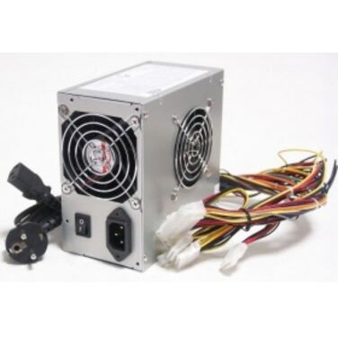 Блок питания 500W LinkWorld ATX LW2-500 24pin 2*SATA 12cm Fan I/O switch power cord