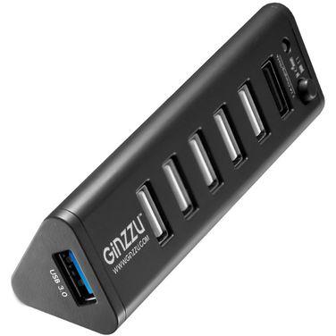 Хаб USB Ginzzu GR-315UB USB 3.0/2.0