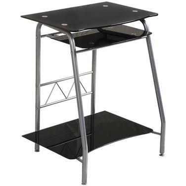 Стол компьютерный Бюрократ GD-005/Black
