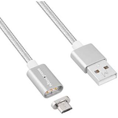 Кабель USB2.0 Am -> micro-B 5P 1м с магнитным адаптером VCOM <VUS7000>