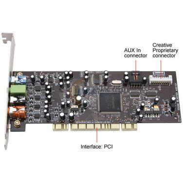 Звуковая карта SB Creative AudigySE (OEM) PCI SB0570