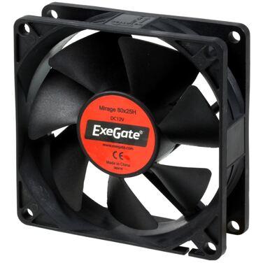 Вентилятор для корпуса Exegate <8025M12H>/<Mirage 80x25H>, 2200 об./мин., 3pin