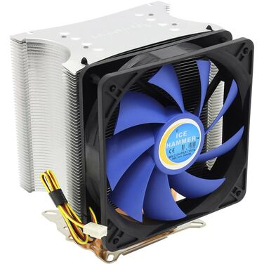 Вентилятор Ice Hammer IH-4401A socketAM2/754/939/940/775, HeatpipeDirect, тепловые трубки, Al-Cu