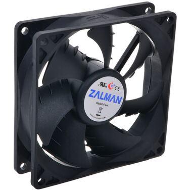 Вентилятор Zalman ZM-F2 PLUS (SF) Fan for m / tower (3пин, 92x92x25мм, 20-23дБ, 1500об / мин)