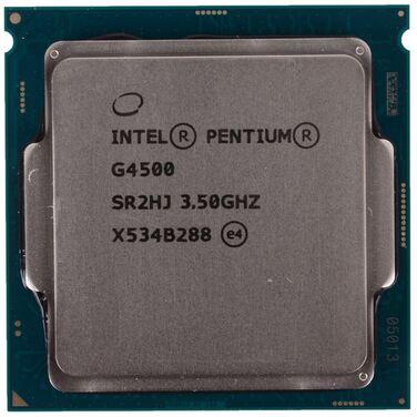 Процессор Soc-1151 Intel Pentium G4500 (3.5GHz/3MB/2Core/51W/HDG530) OEM