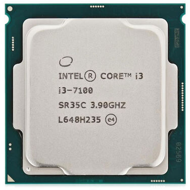 Процессор Soc-1151 Intel Core i3-7100 (3.9GHz/3MB/2Core/51W/HDG630) OEM