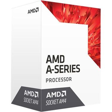 Процессор Soc-AM4 AMD A8 9600 65W, 4C/4T, 3.4Gh(Max) (AD9600AGABBOX) BOX