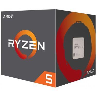 Процессор Soc-AM4 AMD RYZEN 5 1400 BOX 3.2-3.4GHz 65W 4c/8t [YD1400BBAEBOX]