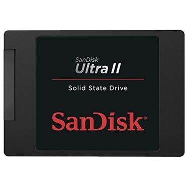 Накопитель SSD 480Gb SanDisk Ultra II SDSSDHII-480G-G25 SATA III RTL