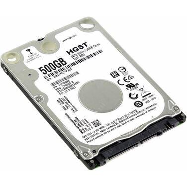 """Жесткий диск 2.5"""" 500Gb SATA-III HGST Travelstar HTS725050B7E630 (7200rpm) 32Mb"""