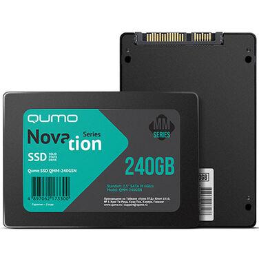 Накопитель SSD 240Gb QUMO Novation Q3DT-240GPPN SATA3. 0,7мм