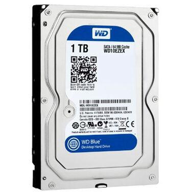 "Жесткий диск 3.5"" 1Tb SATA-III Western Digital Blue WD10EZEX (7200rpm) 64Mb"