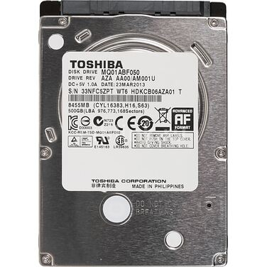 "Жесткий диск 2.5"" 500Gb SATA-III Toshiba MQ01ABF050 (5400rpm) 8Mb"