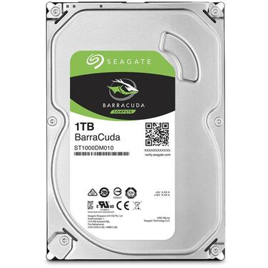 "Жесткий диск 3.5"" 1Tb SATA-III Seagate Barracuda ST1000DM010 (7200rpm) 64Mb"