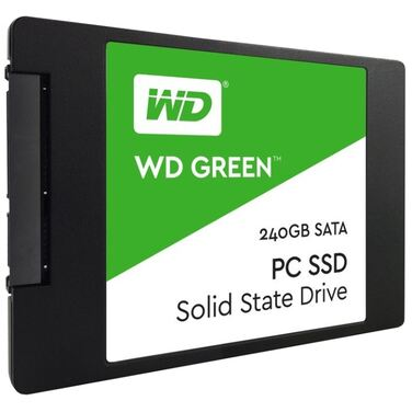 "Накопитель SSD 240Gb Western Digital WD Green PC SSD SATA, 2.5"" (WDS240G1G0A)"