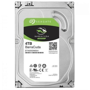 "Жесткий диск 3.5"" 4Tb SATA-III Seagate Barracuda ST4000DM004 (5400rpm) 256Mb"