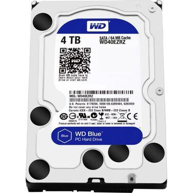 "Жесткий диск 3.5"" 4Tb SATA-III Western Digital Blue WD40EZRZ Blue (5400rpm) 64Mb"