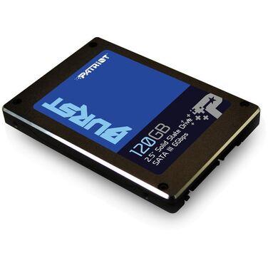 """Накопитель SSD 120Gb Patriot Burst 2.5"""", SATA3 6Gb/s (PBU120GS25SSDR)"""