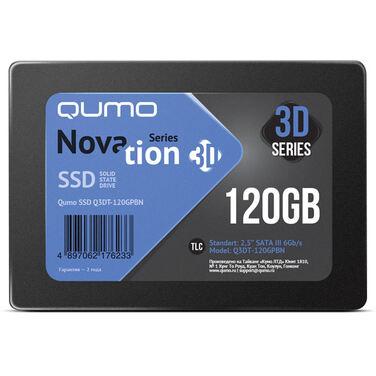 Накопитель SSD 120Gb QUMO Novation Q3DT-120GPBN SATA3, 0,7мм
