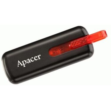 Память Flash Drive 32Gb Apacer AH326 black USB (AP32GAH326B-1)