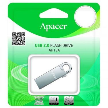 Память Flash Drive 16Gb Apacer AH13A USB2.0 (AP16GAH13AS-1)