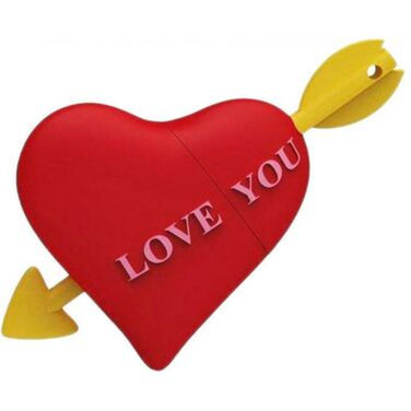 Память Flash Drive 32Gb ICONIK сердце, USB 2.0 (MTFC-HEART-32GB)