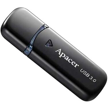 Память Flash Drive 8Gb Apacer AH355 USB3.0 Black (AP8GAH355B-1)