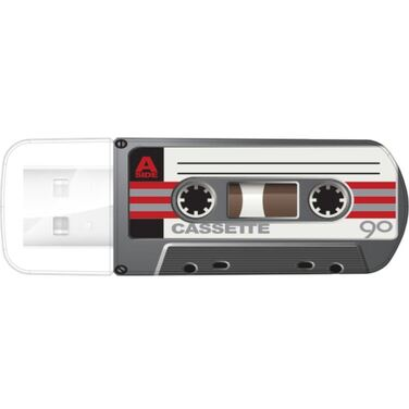 Память Flash Drive 32Gb Verbatim Mini Cassette Edition, Black, USB 2.0
