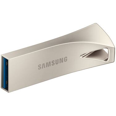 Память Flash Drive 32GB Samsung BAR Plus, USB 3.1, серебристый (MUF-32BE3/APC)