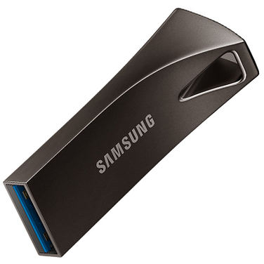 Память Flash Drive 32GB Samsung BAR Plus, до 200 МВ/s, серый (MUF-32BE4/APC)