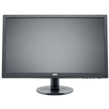 "Монитор 24"" AOC e2460sd2 черный TN LED 16:9 DVI матовая 250cd 1920x1080 D-Sub FHD 4.64кг"