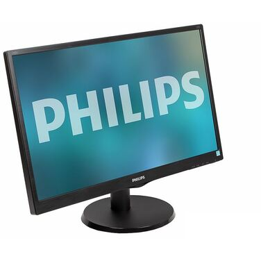 "Монитор 23.8"" Philips 240V5QDAB (00/01) IPS/LED/DVI/HDMI/D-Sub/250cd/FHD/4.09кг/черный"