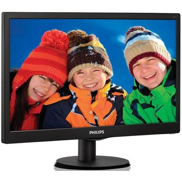 "Монитор 21.5"" Philips 223V5LSB/00 01 Black"