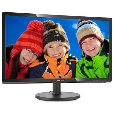 "Монитор 19.5"" Philips 206V6QSB6/62 Black (IPS, LED, Wide, 1440x900, 14 ms, 178°/178°, 250 cd/m, 10M:"
