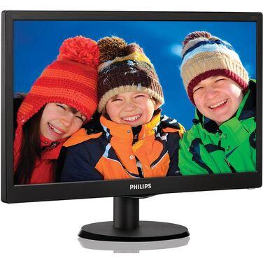 """Монитор 19.5"""" Philips 203V5LSB26/10 Black (LED, LCD, Wide, 1600x900, 5 ms, 90°/50°, 200 cd/m, 10"""